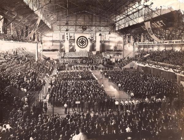 80 años de la impactante celebración nazi en el Luna Park