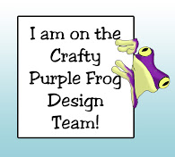 Crafty Purple Frog DT