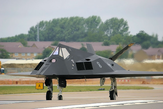 F-117 Nighthawk takeoff