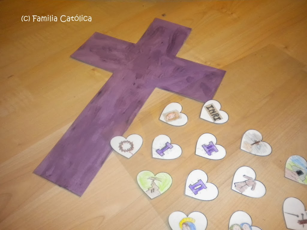 Familia Católica: Manualidad de las Estaciones de la Cruz del sitio ...