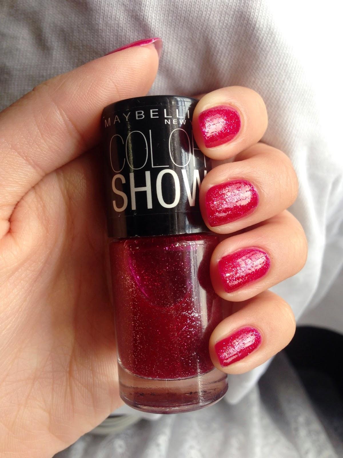 Maybelline Color Show Nail Polishes (II) | H A L F I N C H N A I L S