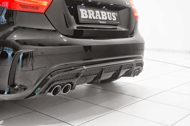 brabus a45 amg exhaust
