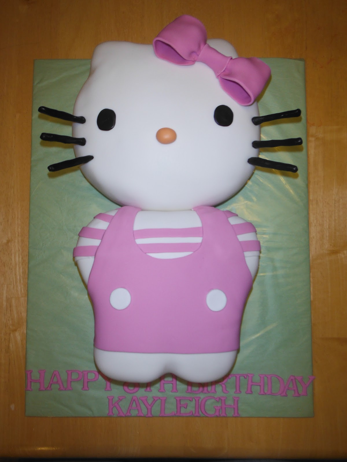 Images Of A Hello Kitty Cake : Cakes and Cookies by Andrea: Hello Kitty Cake