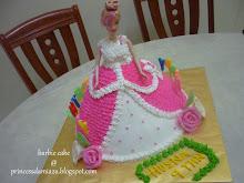 BARBIE CAKE (RM90)
