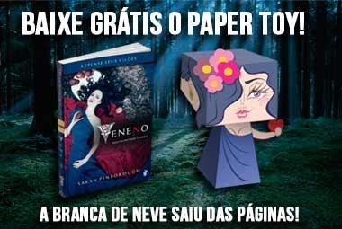 {Divulgação} Paper Toy da Branca de Neve - Editora Única