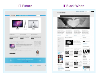 IT Future en IT Black White gratis Joomla 3.0 templates