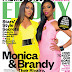 Monica & Brandy Ebony Magazine Spread