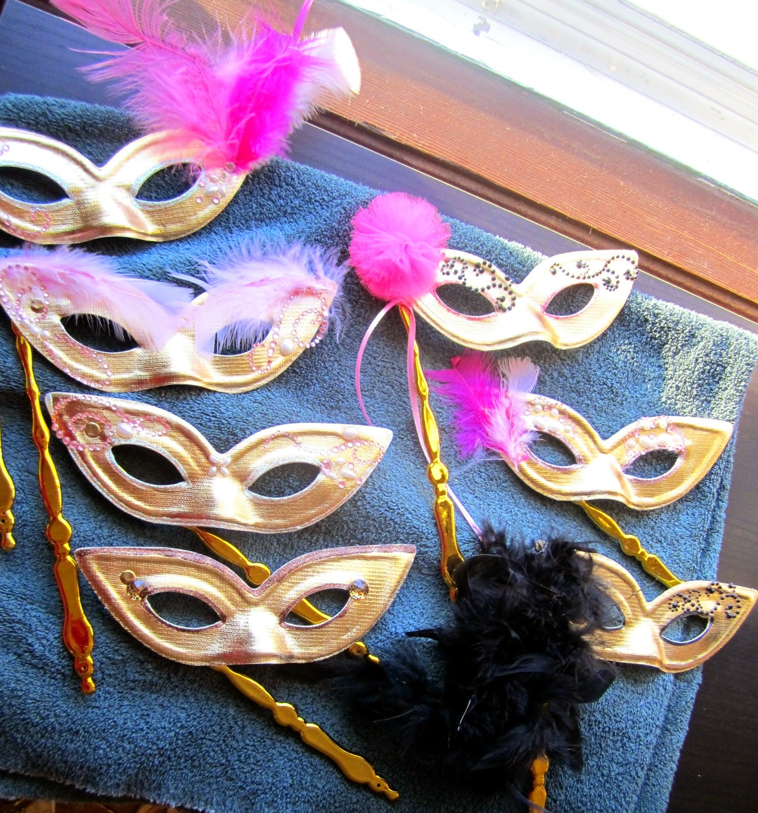 Masks made for BASH conference