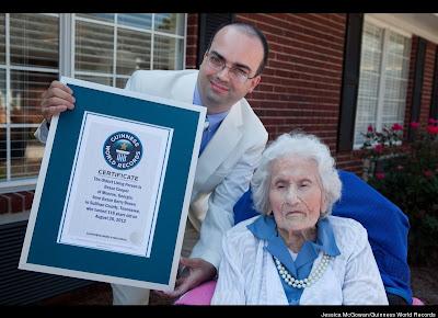 Besse Cooper Turns 116