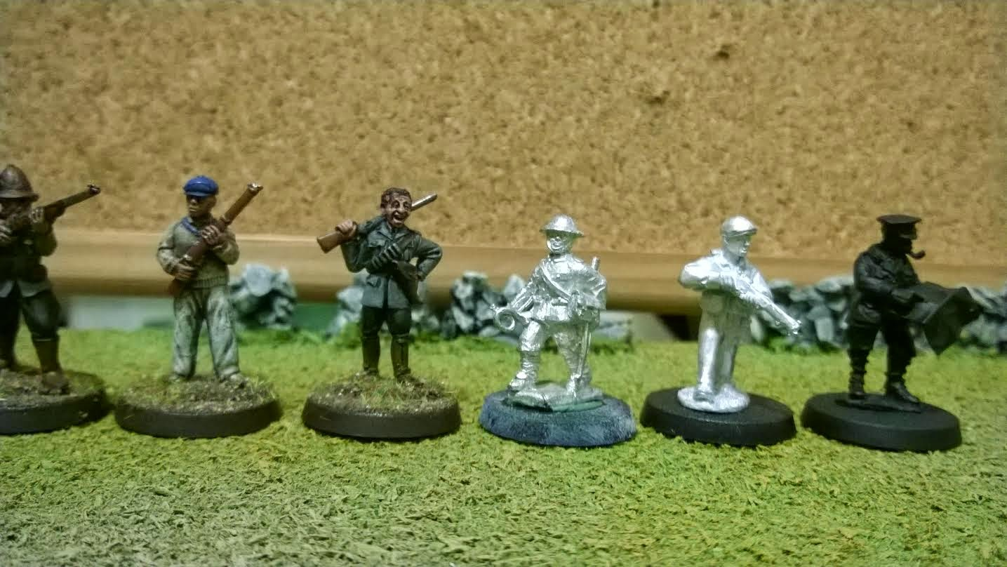 scale creep 28mm north star reiver castings musketeer footsore empress size comparrison miniatures