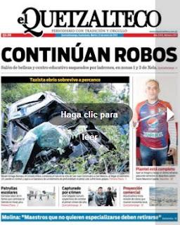 Diario el quetzalteco 22-1-2013