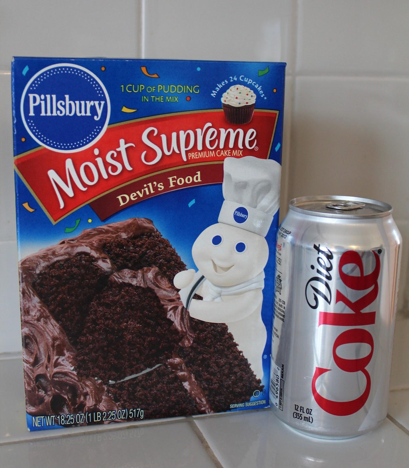 Decadent {Low Fat} Diet Coke Cake!!!! - Yummy Healthy Easy