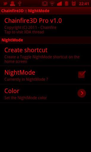 Chainfire3D Pro app