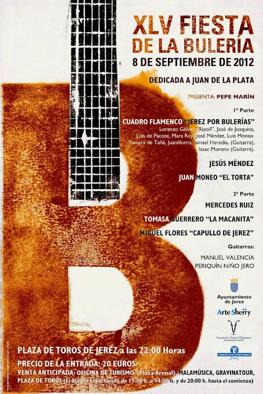 Festivales flamencos 45 fiesta de la buler a 2012 jerez for Oficina turismo jerez