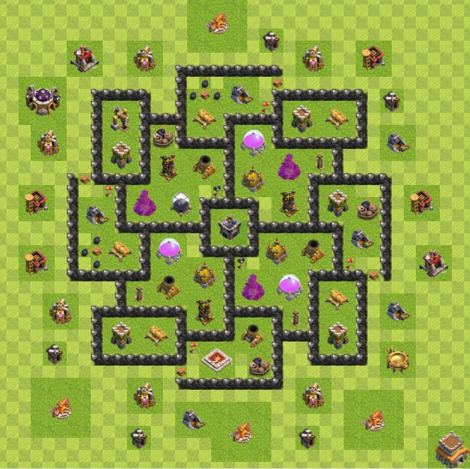 Th8 farming th8 farming base 4 morteros th9 farming sin antihogs