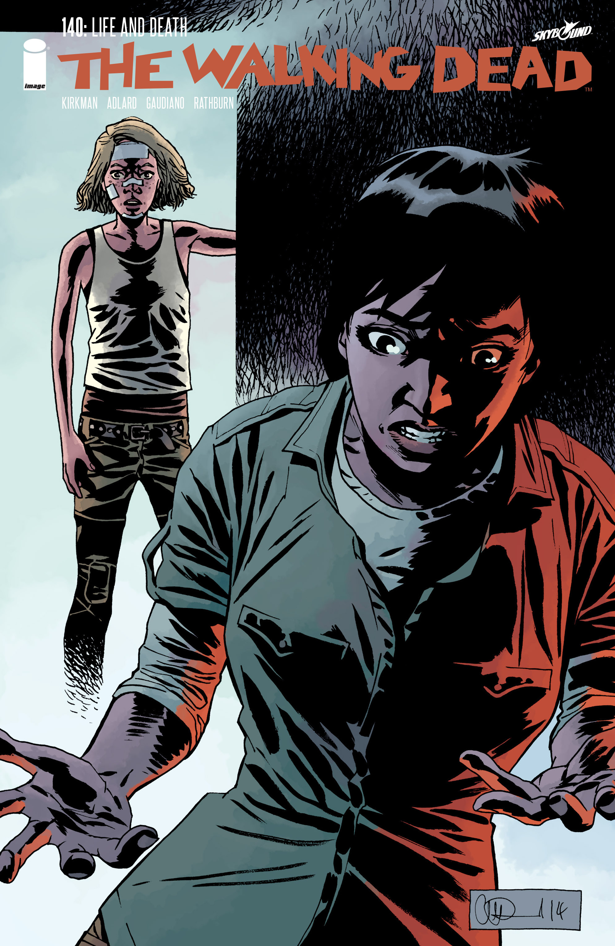 The Walking Dead 140 Page 1