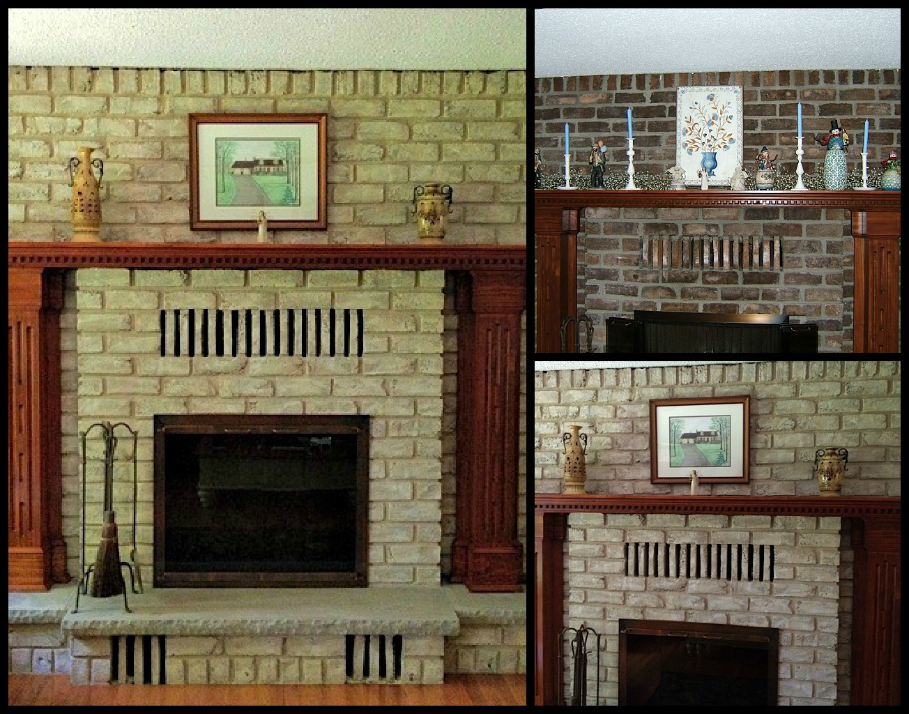 fireplace decorating beautiful diy ideas for your brick fireplace