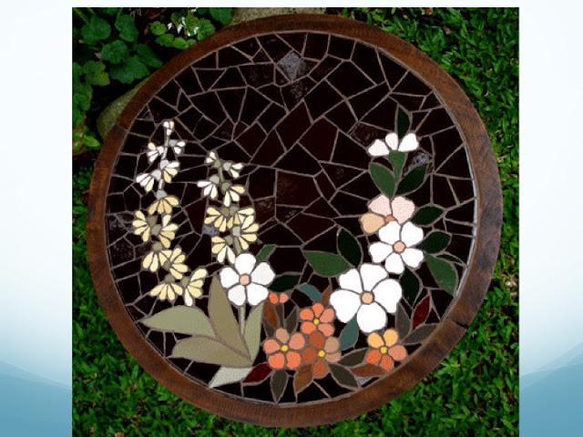 FLORES EM MOSAICO   mosaico sem segredos