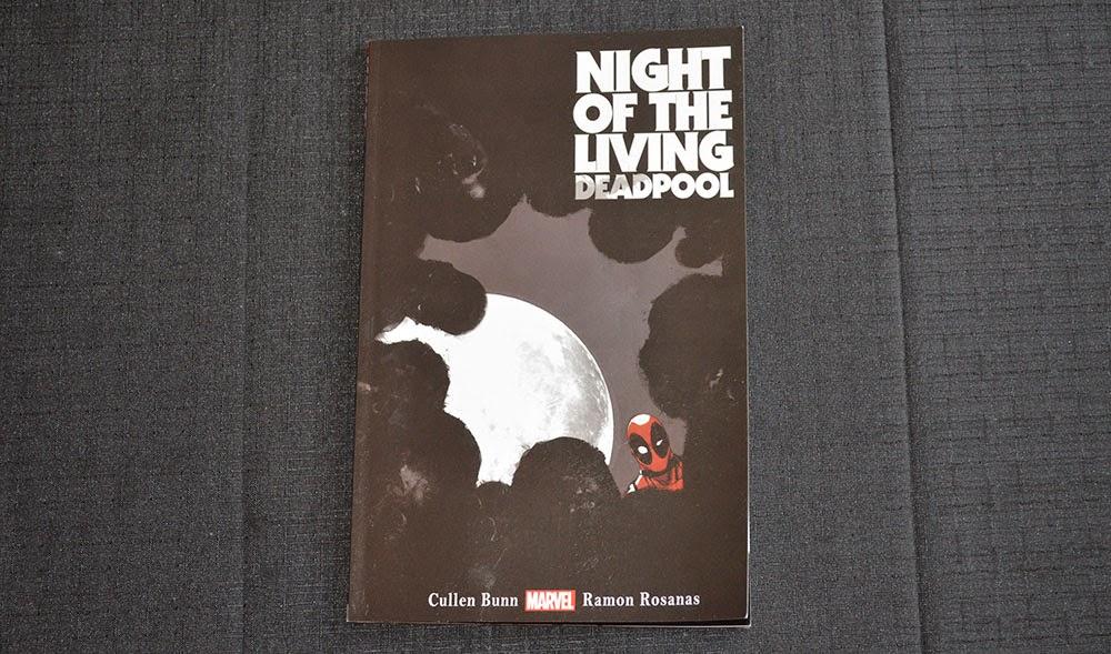 Night of the living Deadpool graphic novel