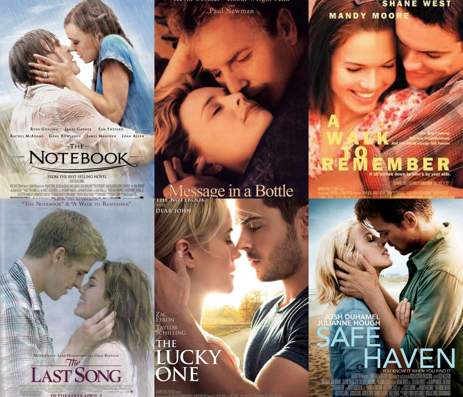 Safe Haven Nicholas Sparks Movies