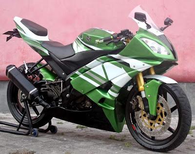 Modifikasi Yamaha Vixion Modif Fairing full body
