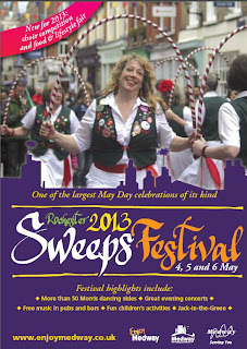 Rochester Sweeps Festival Programme and schedule of events for 2013