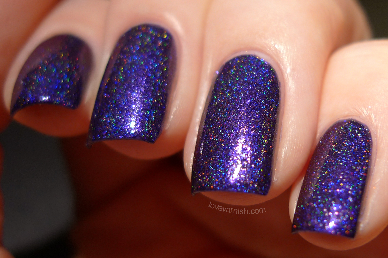 Too Fancy Lacquer It's Christmas Till The End Of Time swatches review