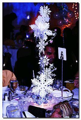 Decoraci n de bodas en invierno centros de mesa for Decoracion invierno