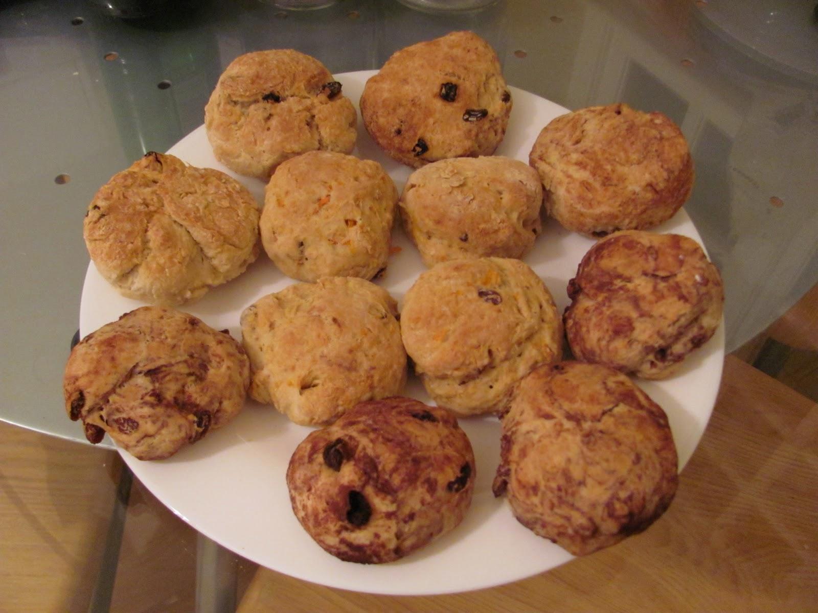 Ed Baines' Raspberry Scones Recipes — Dishmaps