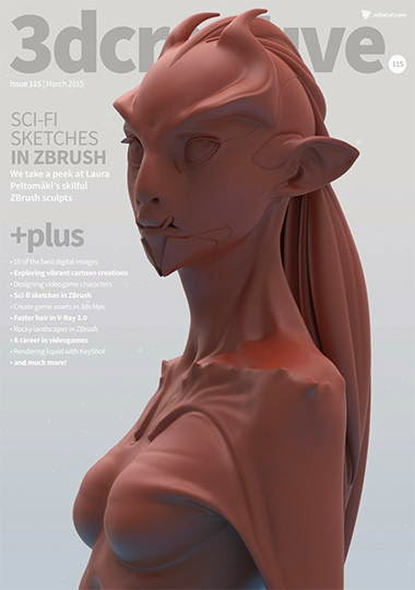 3D Creative Magazine Issue 115 March 2015