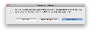How to Install the ADT Plugin for Eclipse restart