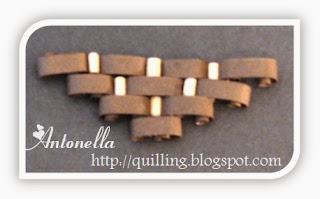 Antonella's free quilled autumn flowers