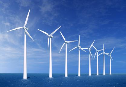 energi angin saat ini adalah sumber energi terbarukan yang paling