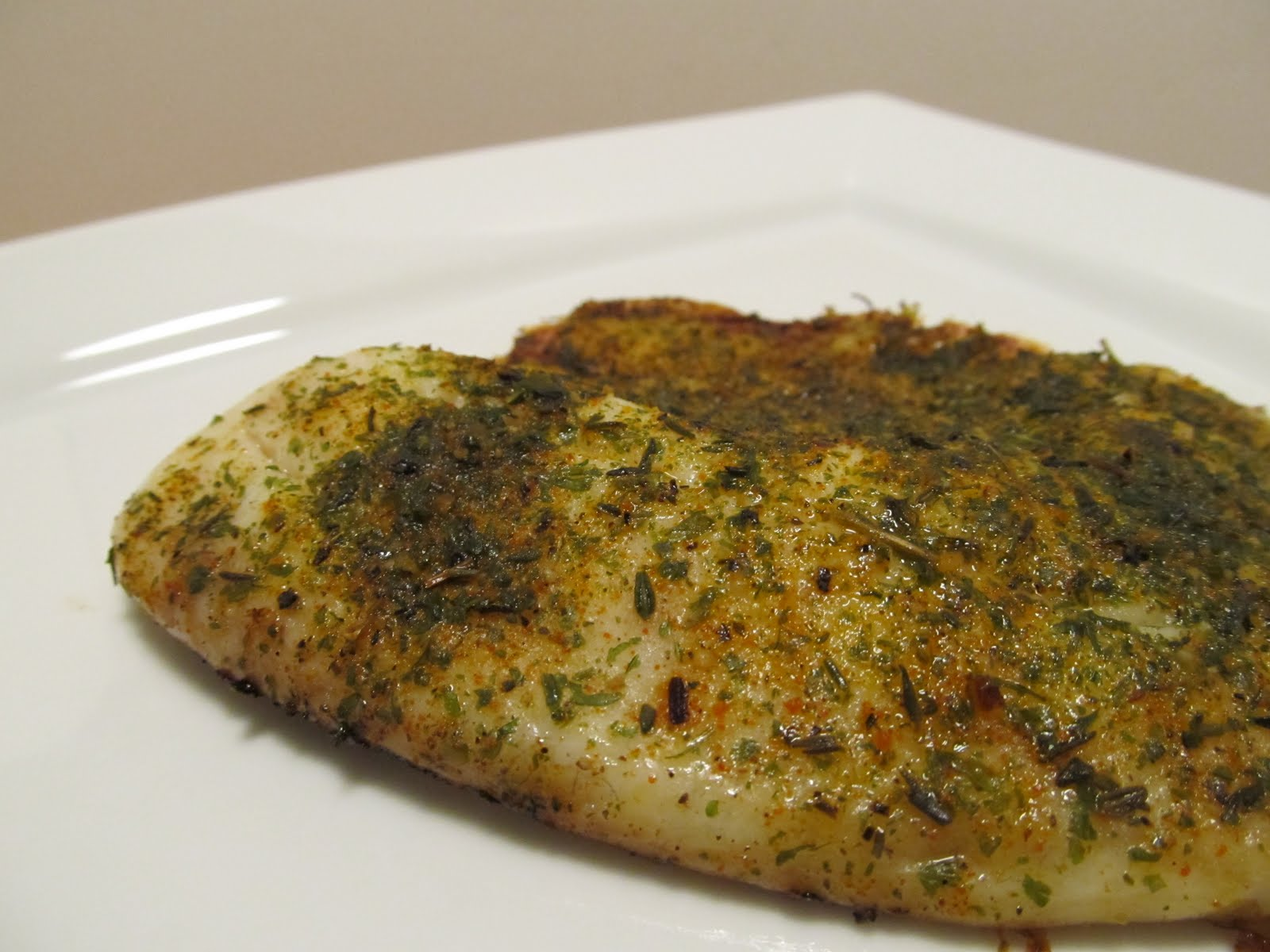 Blackened Tilapia with Homemade Spice Rub - Healthy & Only ...