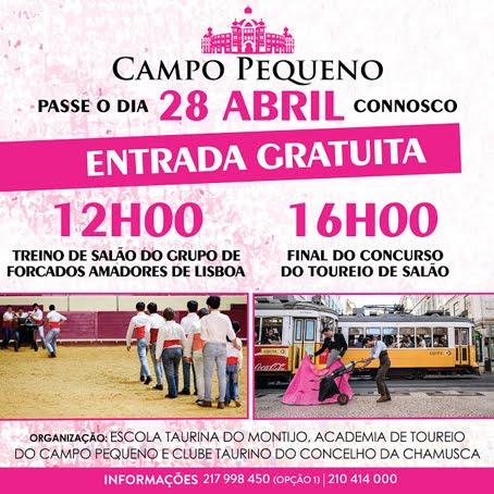 CAMPO PEQUENO - LISBOA (PORTUGAL) 28-04-2018.