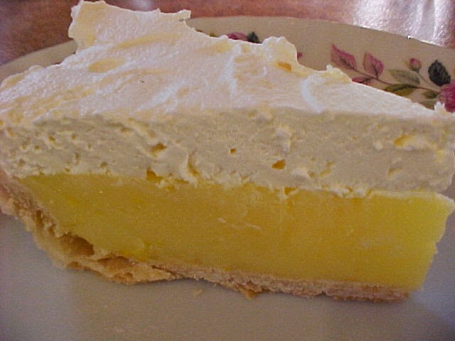 L'exquise tarte au citron