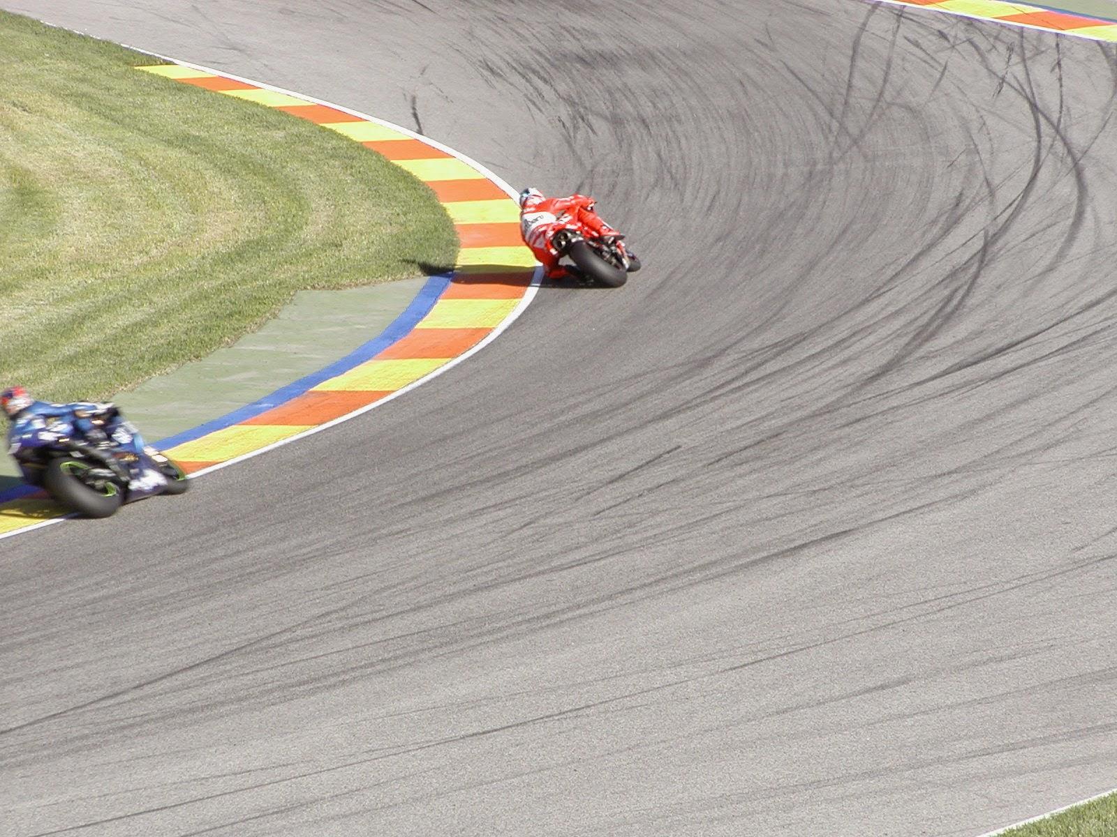carrera de motogp en cheste