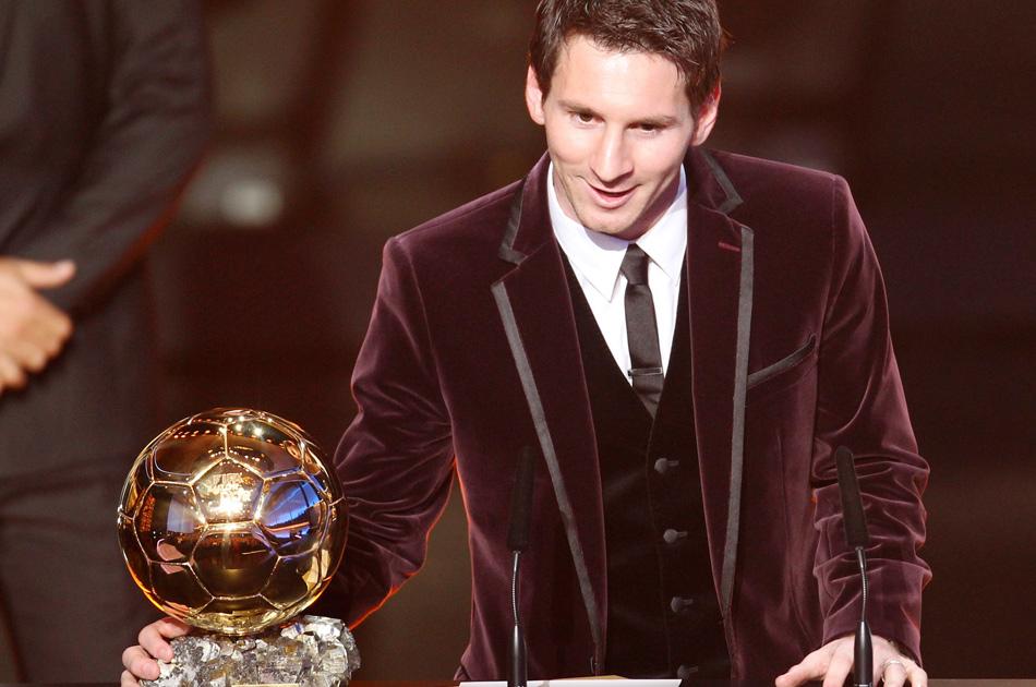 Lionel Messi, Ganador del Balón de Oro 2012