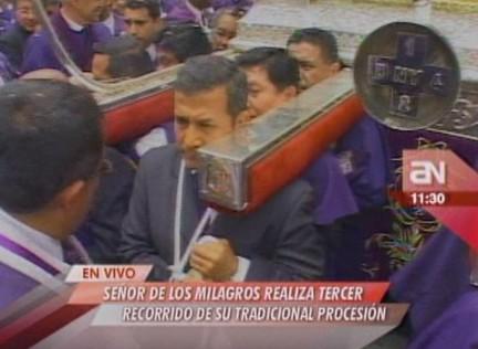 Kingcosmos Ollanta Carga Al Sr De Los Milagros