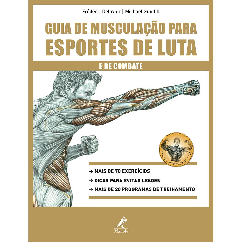 Livro Guia de Musculação p/ Esportes de Luta