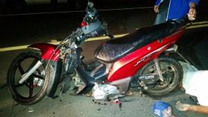 Idoso bate com moto em Jumento e morre na cidade de Barra de Santa Rosa