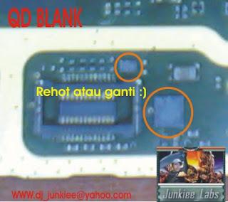 Solusi Perbaikan Nokia N Gage QD blank