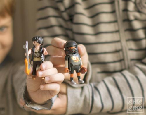 Playmobil-Jugador y guitarrista