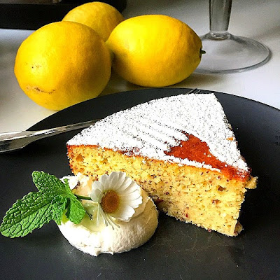 Stacey Snacks: Arizona Meyer Lemon Yogurt Cake