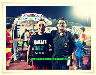 Antara penggerak utama perlawanan amal ini: Bro Malek Rahman.