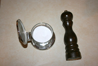 salt and pepper for cooking