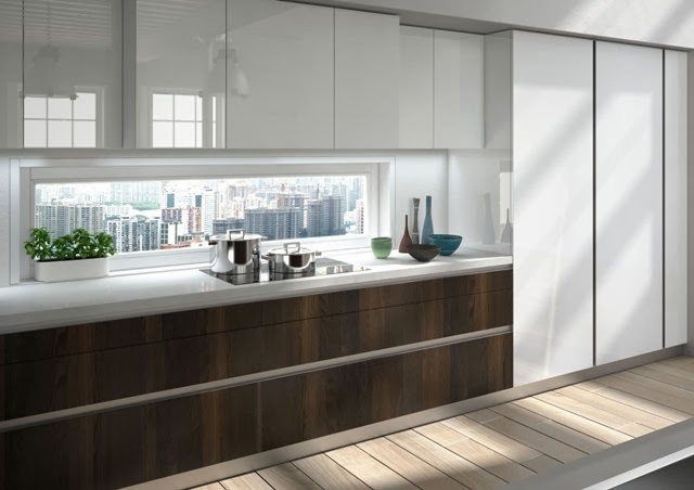 Appunti di casa una cucina essenziale - Cucine snaidero moderne ...