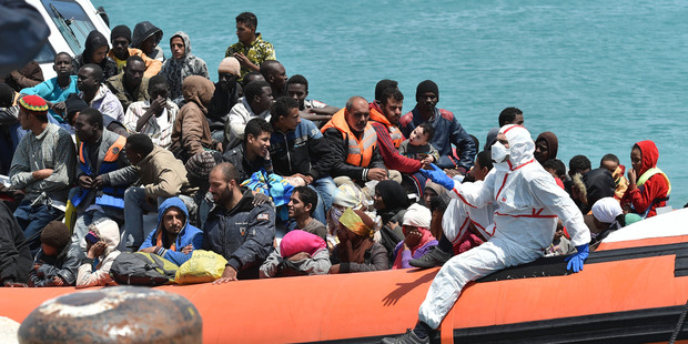 Italian coastguard co-ordinated rescue of 4200 migrants