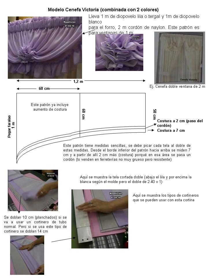 Novedades Paola: Cortinas y Cenefas