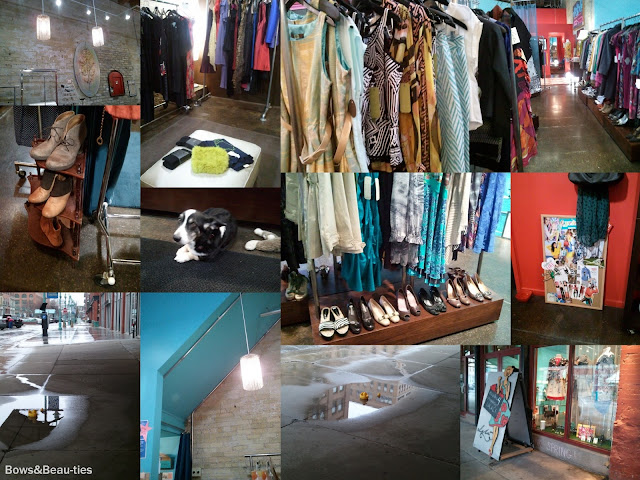 Lela Boutique, out and about, Historic Third Ward, Milwaukee